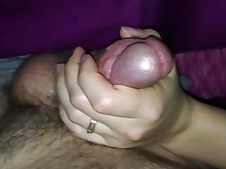 amateur, sperma, ejaculatie, handjob, hardcore, onbewust, vrouw