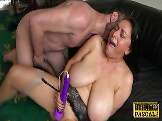 Busty British Milf Roughly Fucked Doggy Style