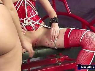 Electro Stim Dildos Bondage And Hot Wax