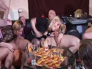 Couple, German, Groupsex, Orgy, Sex
