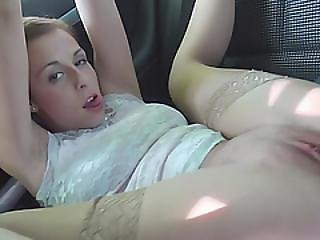 Gorgeous Babe Antonia Hitchhike To A Stranger And Fuck Outdoor