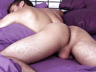 Large Ramrod Latino Sebastian Beats Off