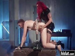 Hardcore Lesbian Fucking With Babes