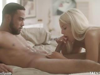 Cheating Wife Bridgette B Sucks Big Dick Then Goes Home To Fuck Her Husband