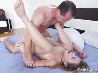 Young Teen And Big Cock Household Piping