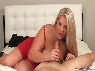 Cum Hungry Milfs Got A Throbbing Dick In Her Hands