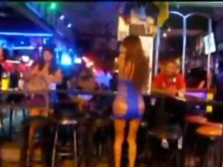 Hot Thai Babe In Incredible Sexy Dress In Pattaya