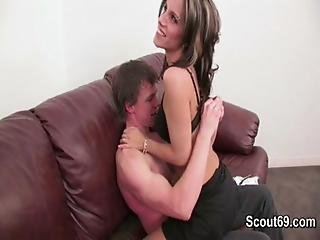 Milf Mother Seduce Young Boy To Fuck Over Chat