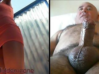 amateur, plage, éjaculation, branlette, masturbation, taxi