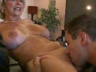Mature aunt fucked good