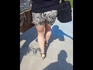 Blonde Milf Sexy Legs And Ass