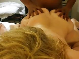 amateur, exwife, thuis, thuis gemaakt, trio, vrouw