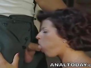 Anal, Cú, Broche, Morena, Fantasia, Foder, Hardcore, Madura, Milf, Mamã, Rude, Sexy, Sexo, Vintage