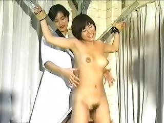 fetish, japansk, lesbisk, kildrende