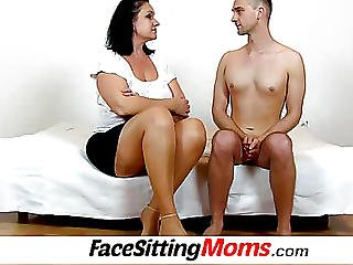 Full-figured Big Juggs Wife Danielle Pussy Eating