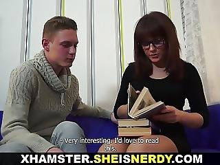 She Is Nerdy Smart Chick Fucked Dirty