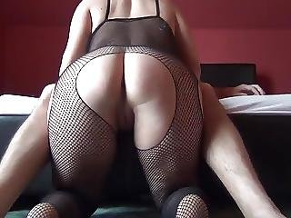 Round Ass Spanking Catsuit Than Fuck