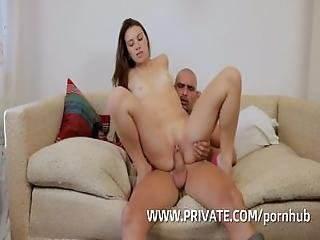Tiffany Fucks The Gardener While Her Boyfriend Takes A Nap