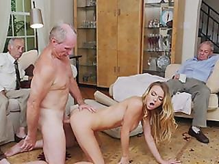 Young Teen Molly Mae Fucked By Old Grand Dad