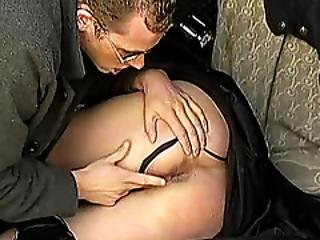 Moms First Backseat Anal Sex