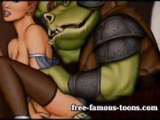 Star Wars parody hentai orgies