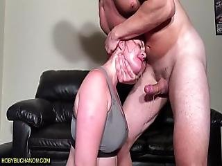 Ass Eating Slut Gets A Rough Sloppy Face Tit Slapping Gagging Face Fuck