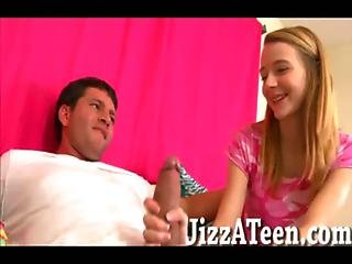 Cutie Blonde Teenager Ava Hardy Fucked On Bed