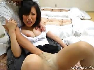 Japanese Nympho Milf Foreplay Orgasm