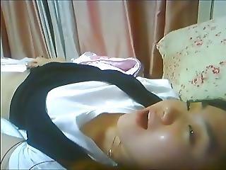 Korean Slut Yein Jeong Masturbates On Webcam 22