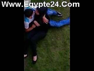 Arab Students Outdoor Boob Sucking-egypte24.com