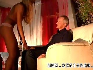 Old Aunt And Petite Old Man And Old Guy Seduce A Teen And Hot Old Blonde