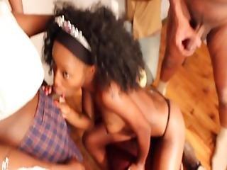 Ghetto Ebony Hood Rat Amateurs Have Sex Gangbang