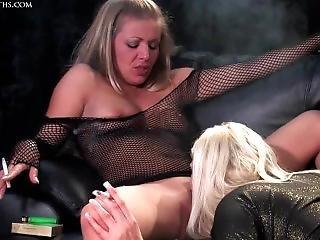 Karen Wood & Michelle B Smoking