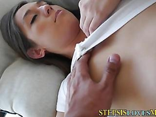 Sucking Teen Spits Cum