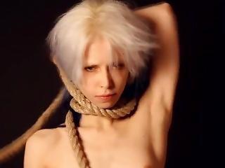 Skinny Emo Girl Hanged