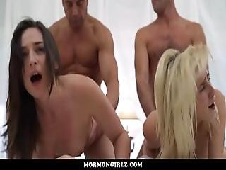 Mormongirlz- Wife Sharing In A Temple Orgy