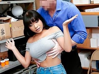 Shoplyfter - Aryana Amatista Takes Her Managers Hard Cock