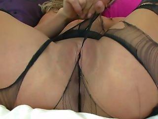 Natalia Forrest Pantyhosed Peek-a-thon