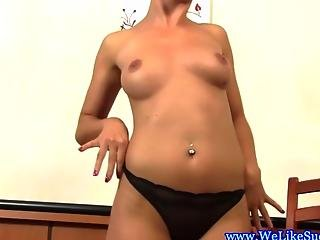 Beautiful European Bj Babe Cum Gargling