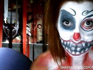 Clown, Fetish, Masturbatie, Spellen, Webcam