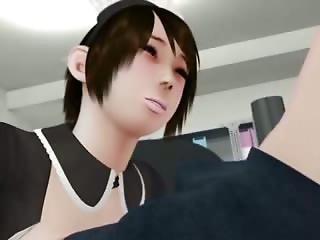 3d Manga Maid