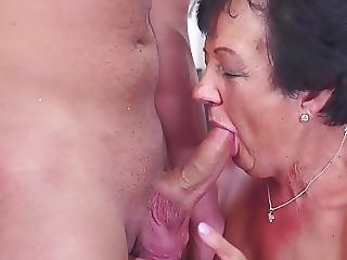 Happy Granny Suck And Fuck Young Boy