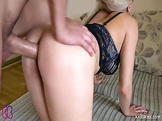 Hard Doggystyle Anal Creampie - Kriss Kiss