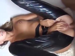 Intense Latex Sex Blowjob Deep Fucking Session With Sexy Girl