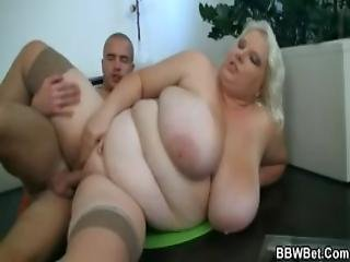 Huge Big Boobs Woman Getting Screwed