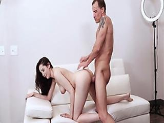 Step Perky Romping Kyra Rose From Behind Doggystyle