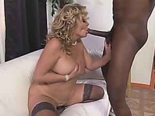 Busty Veteran Cougar Sucking Dick Like A Fresh Teen