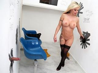Anal Slut Barbie Sins Choose The Big Black Cock - Gloryhole