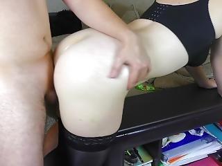 Pov Big Natural Tits Job And Thigh Job Stockings