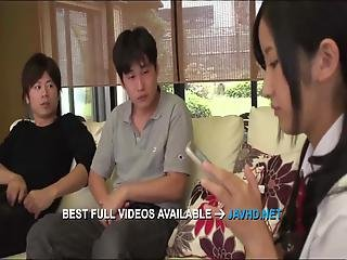Yura Kurokawa Sweet Ass Japanese Beauty With Nice Tits Is With Her Man, Making Out, Moaning While The Guy Gently Licking Her Nipples Along With Fingering Her Fine Pussy
